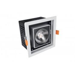Foco de techo cuadrado LED orientable