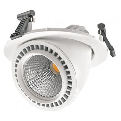 Foco de techo orientable LED